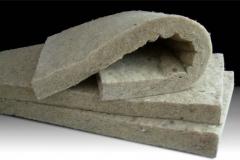 Fibra de lana de roca