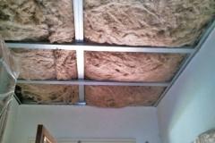 Aislante de lana de roca en techo